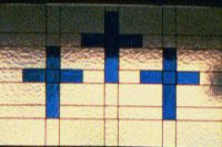 Stained Glass Cross Trio