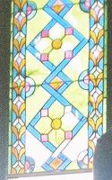 Stained Glass Window in Vrbas Church
