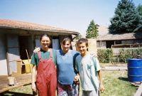 Zdenka, Jelena and her son Dejan